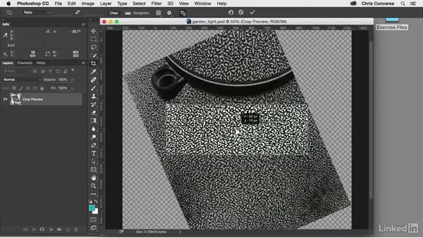 Crop and wrap the image: Design the Web: Creating a Repeating Background in Photoshop