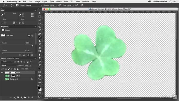 Use the Clone Stamp tool: Design the Web: Creating a Repeating Background in Photoshop