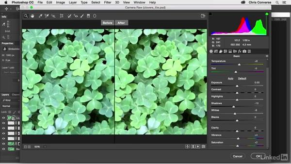 Adjust color and Save for Web: Design the Web: Creating a Repeating Background in Photoshop