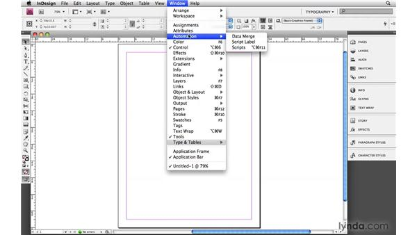 Saving a custom workspace: Designing a Magazine Layout