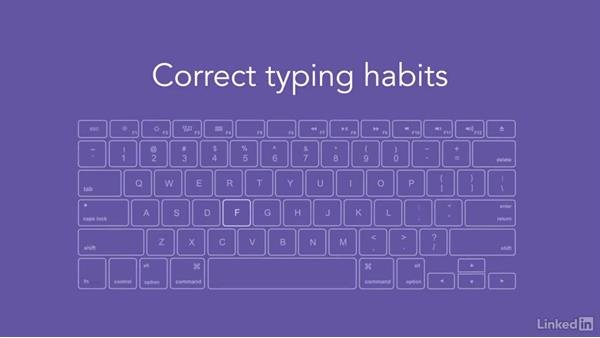 Tips for typing: Efficient Time Management