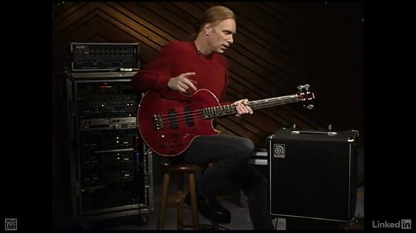 Using an amp: Electric Bass Basics with Billy Sheehan