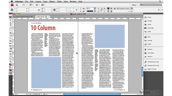 Determining the number of columns: Designing a Magazine Layout