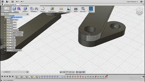 Last strut: Learn Fusion 360: The Basics