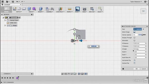 Import the image: Learn Fusion 360: The Basics