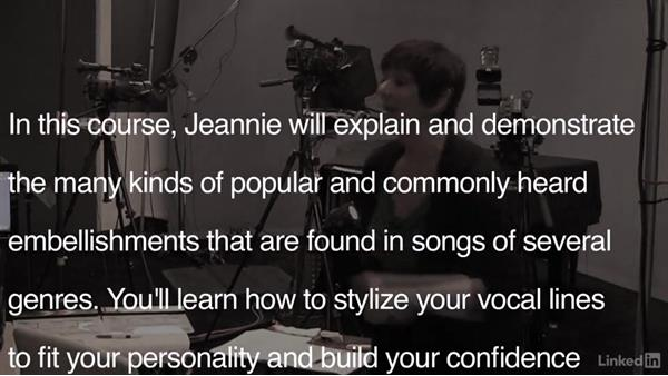 Welcome: Vocal Lessons with Jeannie Deva: 4 Singing Embellishments