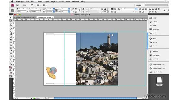 Cropping images: Designing a Magazine Layout