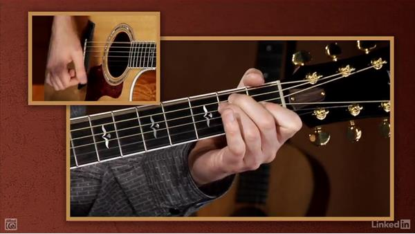 Full-size chords: E and C: Beginning Acoustic Guitar