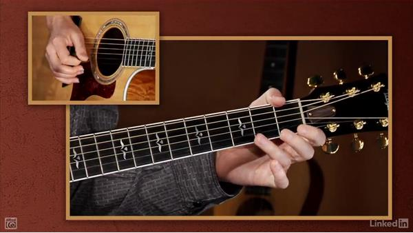 Notes on the 4th string: Beginning Acoustic Guitar