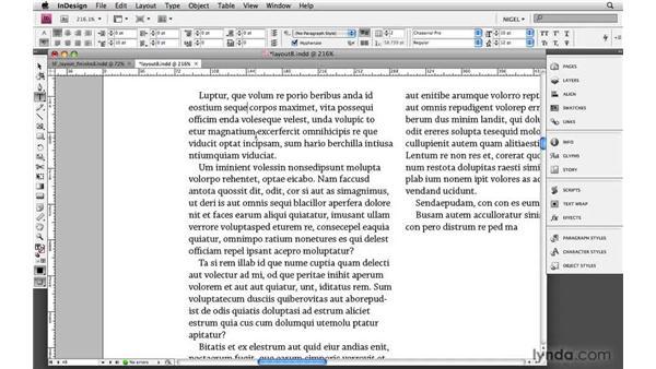 Choosing fonts: Designing a Magazine Layout
