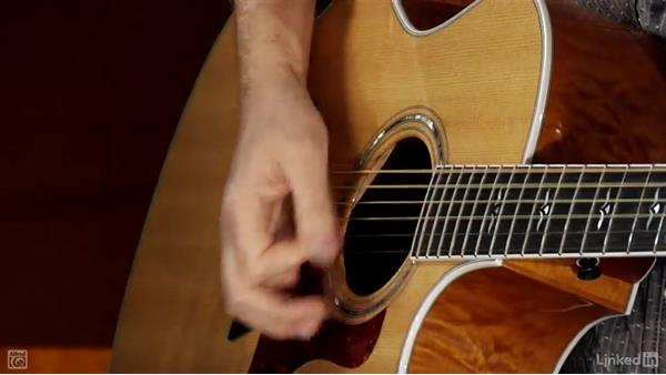 The mute stroke: Beginning Acoustic Guitar