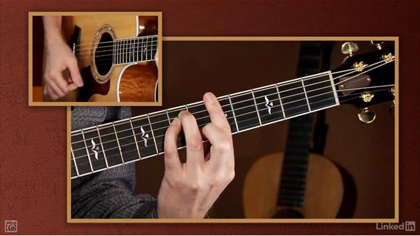 Barre chords: Beginning Acoustic Guitar