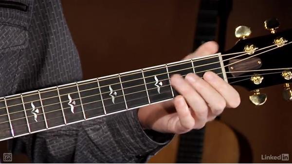 Thumb chords: Beginning Acoustic Guitar