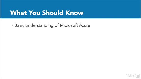 What you should know: Microsoft Azure: Security Concepts