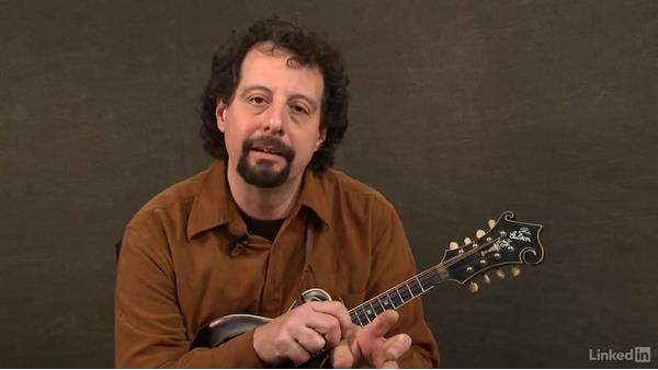 1-6-2-5 progression: Mandolin Lessons with Mike Marshall: 2 Soloing Ideas and Kickoffs