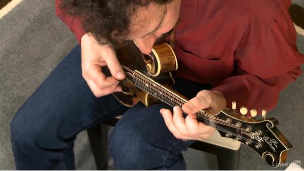 """Red Haired Boy"": Mandolin Lessons with Mike Marshall: 2 Soloing Ideas and Kickoffs"