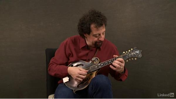 """Fisher's Hornpipe"", part 1: Mandolin Lessons with Mike Marshall: 2 Soloing Ideas and Kickoffs"