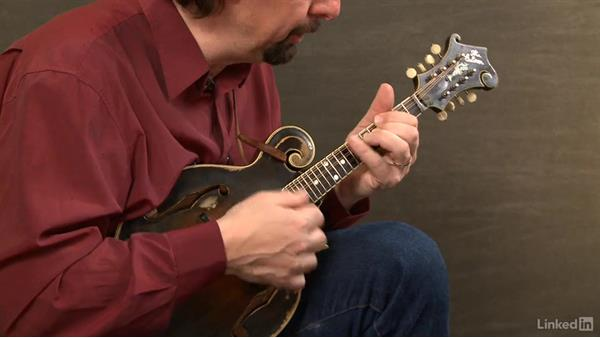 """Fisher's Hornpipe"", part 2: Mandolin Lessons with Mike Marshall: 2 Soloing Ideas and Kickoffs"