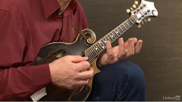 "Using target notes: ""Liberty"": Mandolin Lessons with Mike Marshall: 2 Soloing Ideas and Kickoffs"