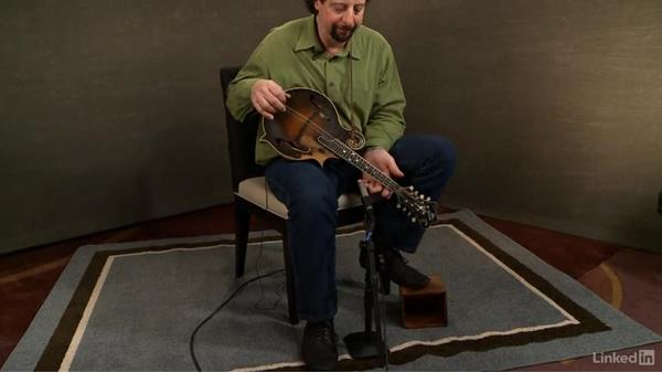 Sitting position: Mandolin Lessons with Mike Marshall: 1 Fundamentals