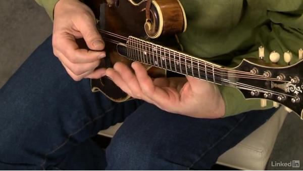 The right hand, part 2: Mandolin Lessons with Mike Marshall: 1 Fundamentals