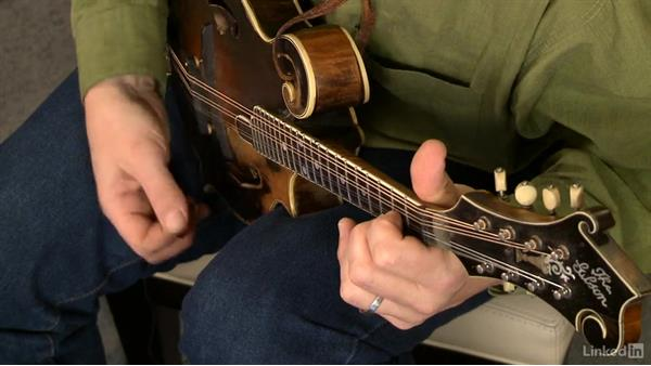Open chords, part 3: Mandolin Lessons with Mike Marshall: 1 Fundamentals