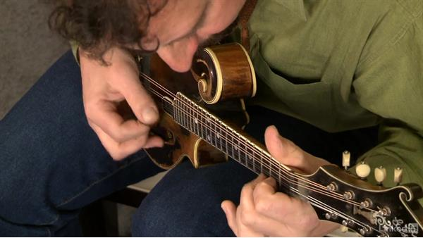 """Old Joe Clark"", part 1: Mandolin Lessons with Mike Marshall: 1 Fundamentals"
