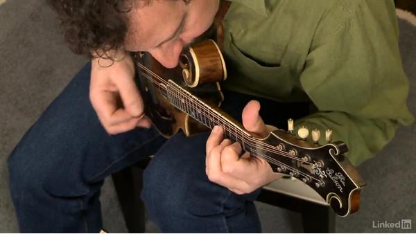 """Liberty"", part 2: Mandolin Lessons with Mike Marshall: 1 Fundamentals"