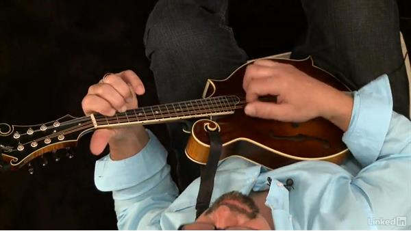 """Hand Me Down My Walking Cane"", basic rhythm, key of G: Mandolin Lessons with Mike Marshall: 1 Fundamentals"