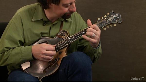 Build your own exercise: Mandolin Lessons with Mike Marshall: 1 Fundamentals