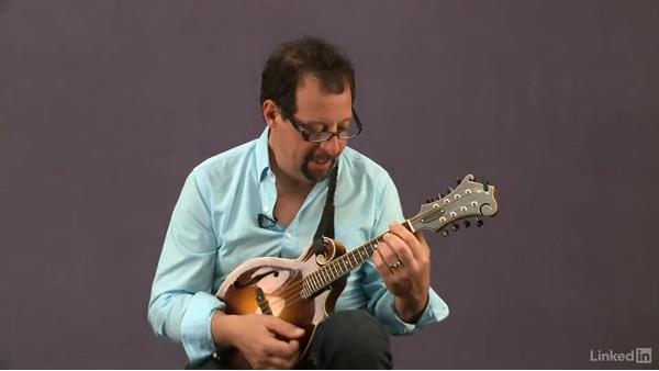 """Hand Me Down My Walking Cane"", basic rhythm, key of D: Mandolin Lessons with Mike Marshall: 1 Fundamentals"