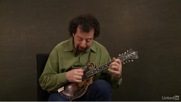 Minor chord progression exercise: Mandolin Lessons with Mike Marshall: 1 Fundamentals