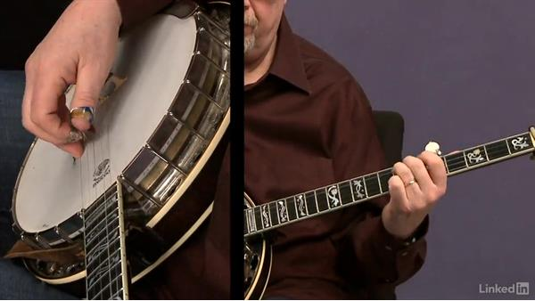Melodic scale patterns: Part 1: Banjo Lessons with Tony Trischka: 4 Improvisation and Melodic Styles