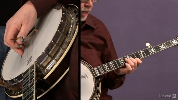 Melodic scale patterns: Part 2: Banjo Lessons with Tony Trischka: 4 Improvisation and Melodic Styles