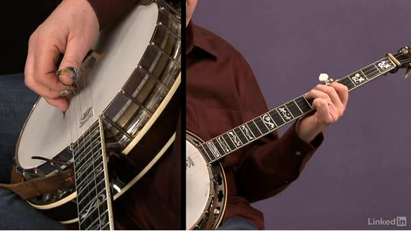 Melodic scale patterns: Part 3: Banjo Lessons with Tony Trischka: 4 Improvisation and Melodic Styles