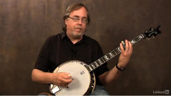 Single-string scale exercises: Part 3: Banjo Lessons with Tony Trischka: 4 Improvisation and Melodic Styles