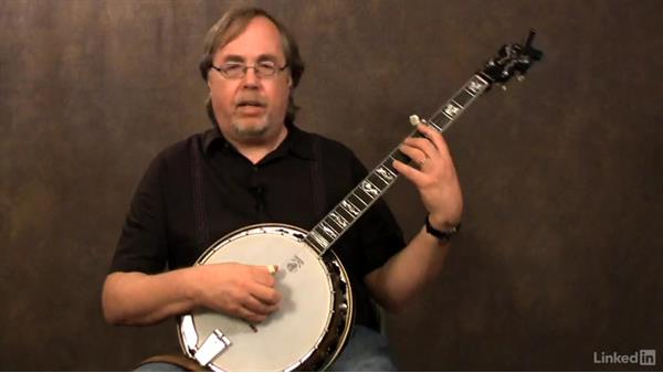 Single-string scale exercises: Part 4: Banjo Lessons with Tony Trischka: 4 Improvisation and Melodic Styles