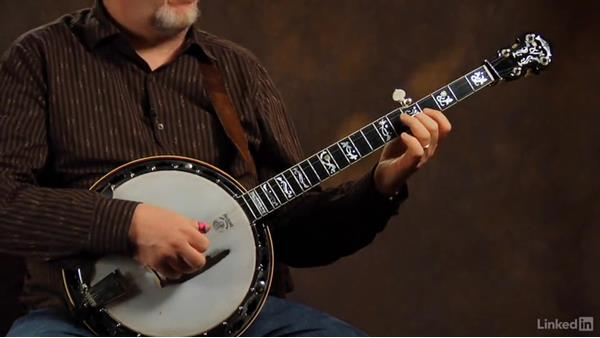 """Cattle in the Cane"": Part 1, playing in the key of A without a capo: Banjo Lessons with Tony Trischka: 4 Improvisation and Melodic Styles"