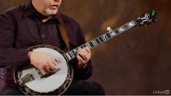 Shelton roll 3: Ending lick: Banjo Lessons with Tony Trischka: 4 Improvisation and Melodic Styles