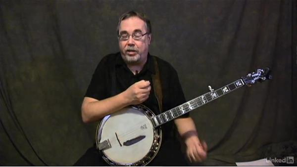 Holding the banjo: Banjo Lessons with Tony Trischka: 1 Fundamentals
