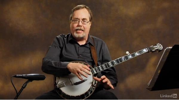 Right-hand position: Part 1: Banjo Lessons with Tony Trischka: 1 Fundamentals