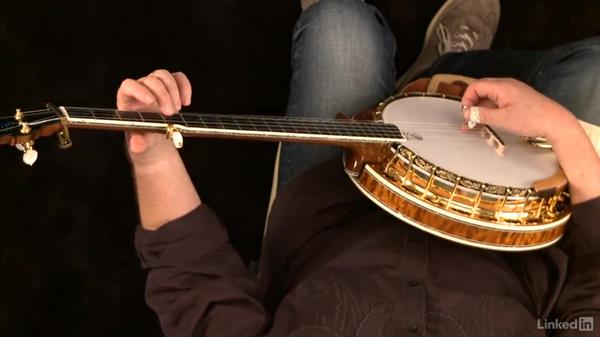 Left-hand position: Banjo Lessons with Tony Trischka: 1 Fundamentals