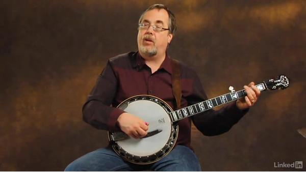 Reading tablature: Banjo Lessons with Tony Trischka: 1 Fundamentals