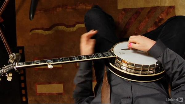Alternating thumb roll exercises: Banjo Lessons with Tony Trischka: 1 Fundamentals