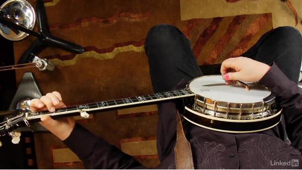 D chord: Banjo Lessons with Tony Trischka: 1 Fundamentals