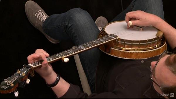 "Osborne roll: ""Old Joe Clark,"" part 1: Banjo Lessons with Tony Trischka: 1 Fundamentals"
