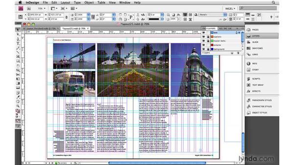 Fine-tuning the layout: Designing a Magazine Layout