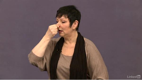 Exercise 3 instructions: Developing vocal range and resonance (nose buzz): Vocal Lessons with Jeannie Deva: 1 Warm Ups and Cool Downs