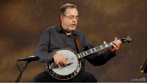Separation of notes: Part 2: Banjo Lessons with Tony Trischka: 2 Hammer-Ons and Pull-Offs