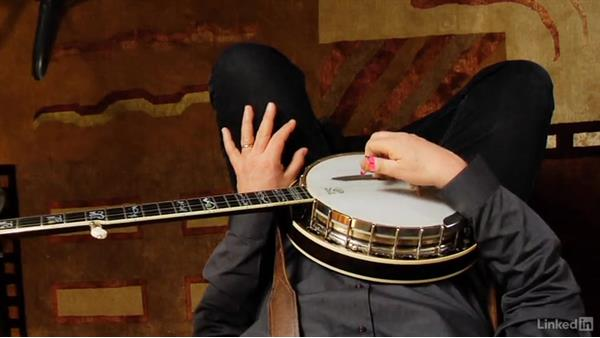 Hitting the head with the picks: Banjo Lessons with Tony Trischka: 2 Hammer-Ons and Pull-Offs